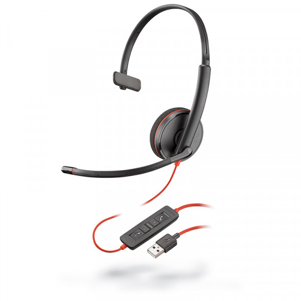 Гарнитура для компьютера Plantronics Blackwire C3210-A