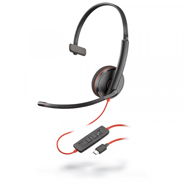 Гарнитура для компьютера Plantronics Blackwire C3210-C