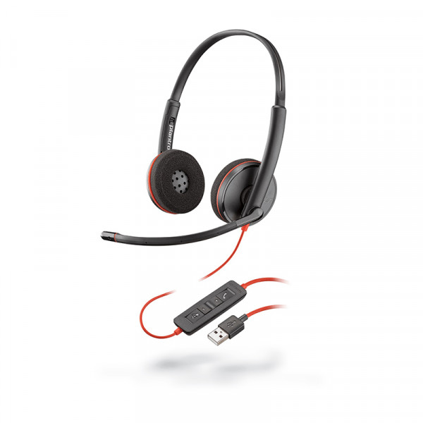 Гарнитура для компьютера Plantronics Blackwire C3220-A