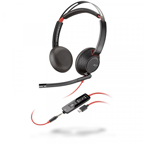 Гарнитура для компьютера Plantronics Blackwire C5220-C