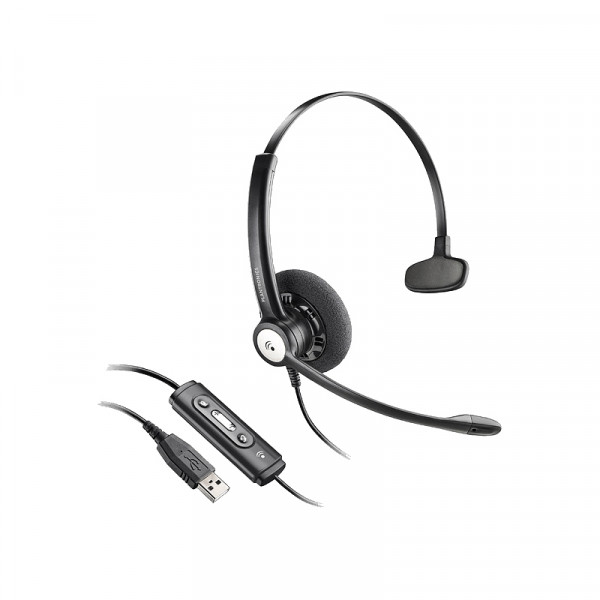 Гарнитура для компьютера Plantronics Entera HW111N-USB-M