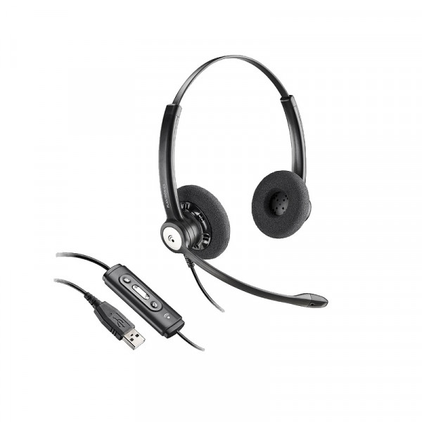 Гарнитура для компьютера Plantronics Entera HW121N-USB