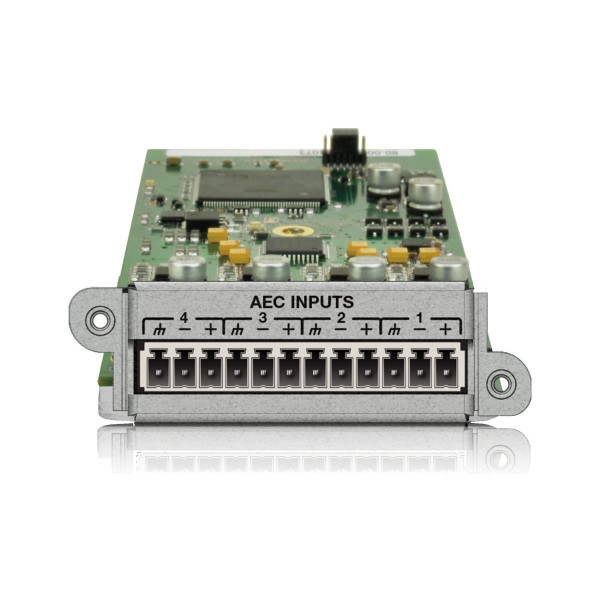Symetrix 4 Channel AEC Input Card